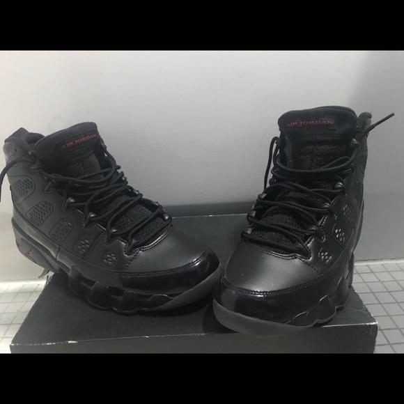 buy online 2b75d 3366b All black jordan 9's